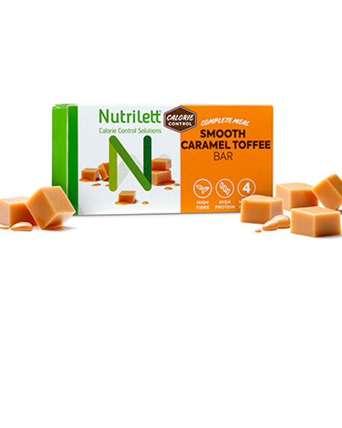Smooth Caramel Bar (4pk)