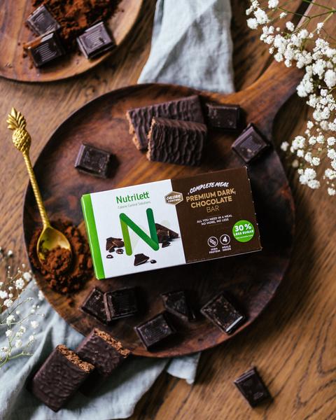 Premium Dark Chocolate Bar (4pk)