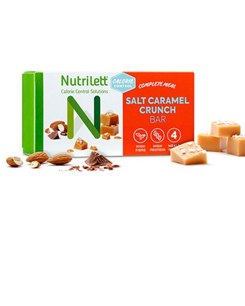 Salt Caramel Crunch Bar (4pk)