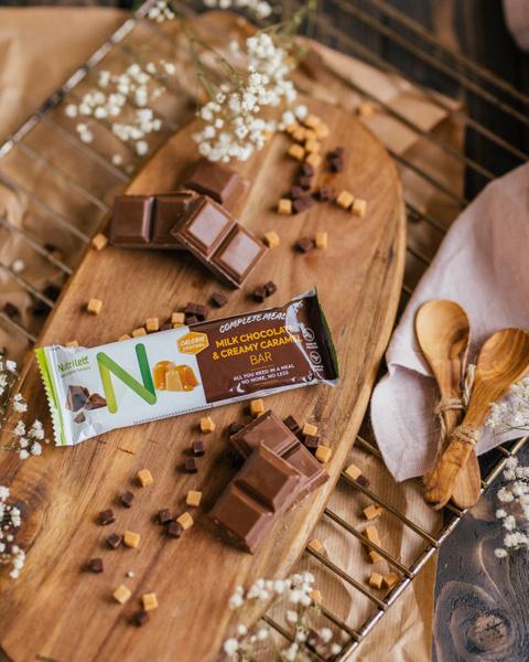 Milk Chocolate & Creamy Caramel Bar