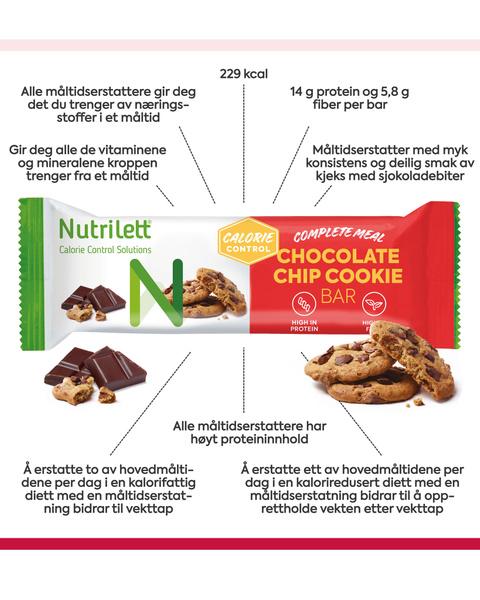 Chocolate Chip Cookie Bar