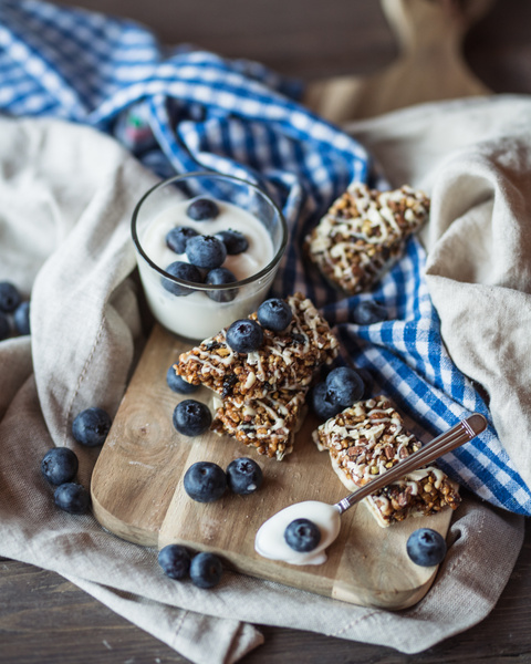 Yoghurt & Blueberry Bar