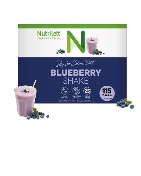 VLCD Blueberry Kvarg Shake (25 måltider)