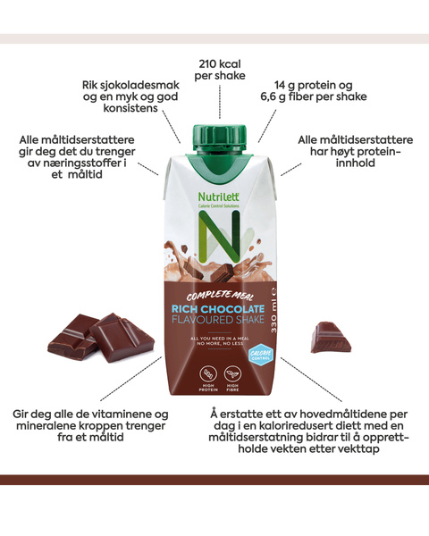 Rich Chocolate Drink 330ml