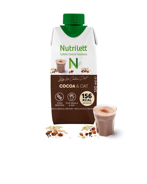 VLCD Kakao- & havremilkshake (330ml)
