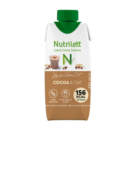 VLCD Cocoa & Oat milkshake (330ml)