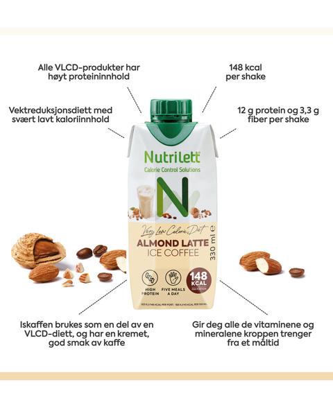 VLCD Ice Coffee Almond Latte