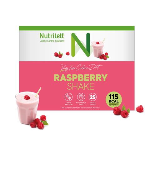 VLCD Raspberry Kvarg Shake (25 måltider)