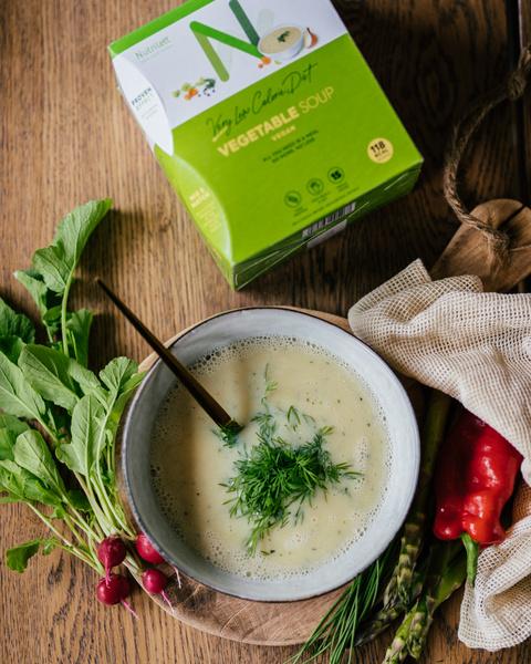 VLCD Creamy Vegetable Soup (15 måltider)