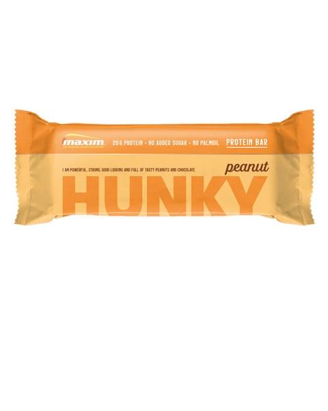 Hunky Peanøtter Proteinbar 55g