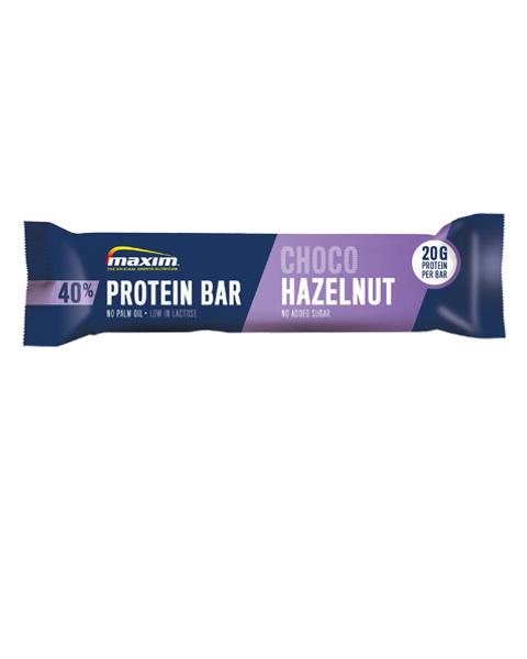40% Hasselnøtt Sjokolade Proteinbar 50g