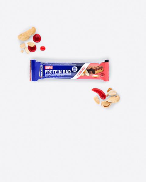 40% Peanøtt og Syltetøy Proteinbar 50g
