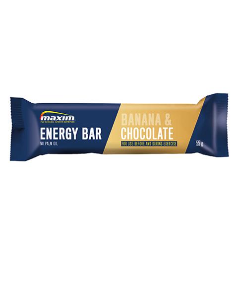 Energibar Banan og Sjokolade 55g