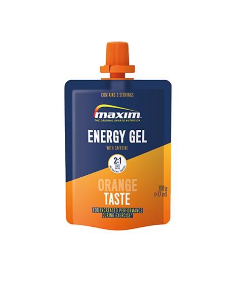 Energi Gel Appelsin m/koffein 100g