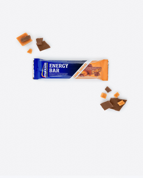 Energibar Karamell og Sjokolade 55g (24-pakk)