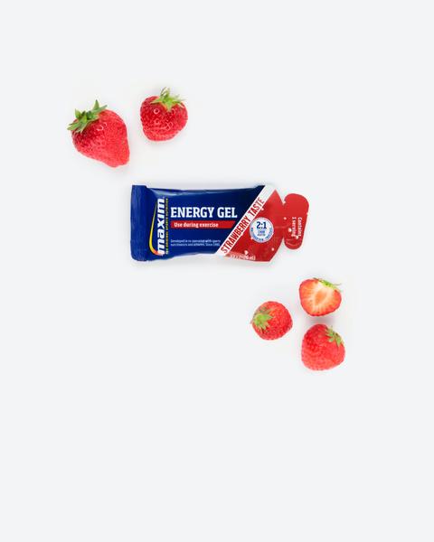 Energi Gel Jordbær 33ml (24-pakk)