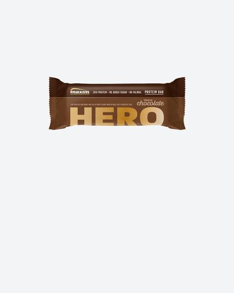 Hero Sjokolade Proteinbar 55g (12-pakk)