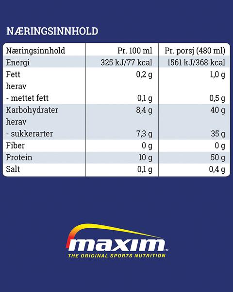Protein Boost Jordbær 480 ml