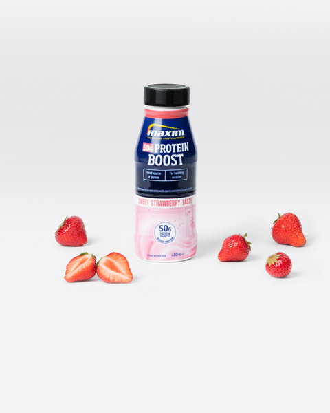 Protein Boost Jordbær 480 ml