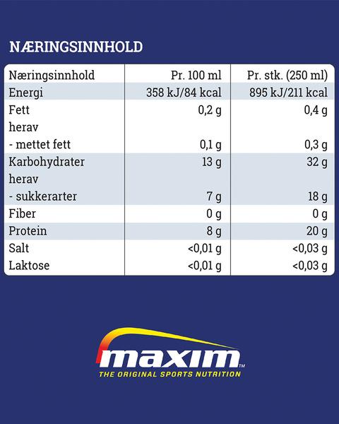 Restitusjonsdrikke RTD Vanilje 250ml