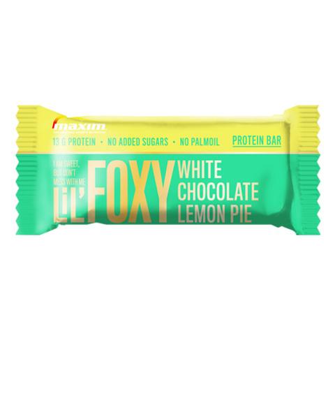 LiL' Foxy Hvit sjokolade og sitronterte Proteinbar 40g