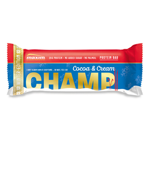 NYHET! Champ Kakao og Krem Proteinbar 55g