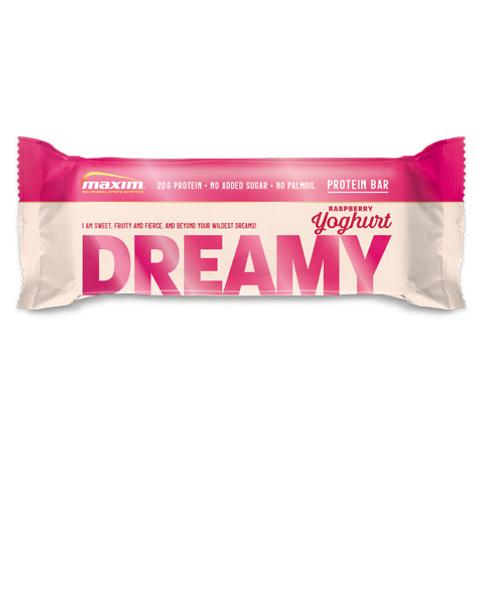 NYHET! Dreamy Bringebær og Yoghurt Proteinbar 55g