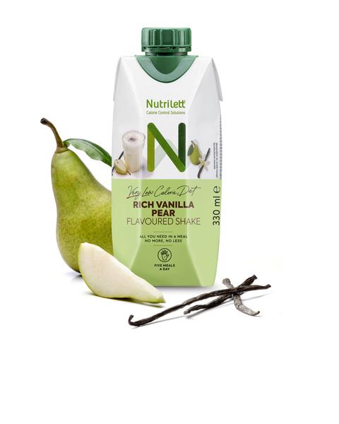 <b>NYHET</b>! Rich Pear Vanilla Shake 330ml