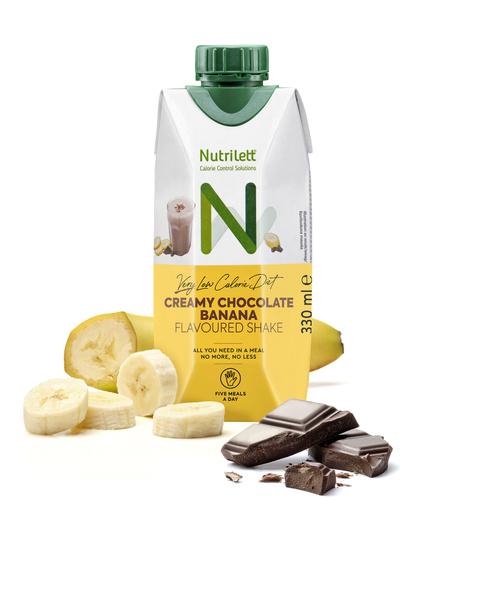 <b>NYHET</b>! Creamy Chocolate Banana shake 330ml