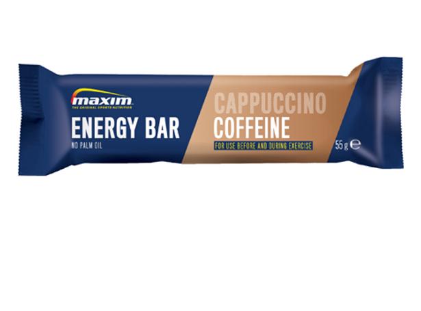 Energibar Cappuccino m/koffein (40pk)