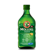 Möller's Tran sitron
