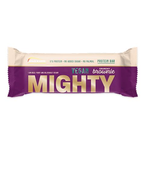 <b>NYHET</b>! Mighty crunchy brownie Vegan