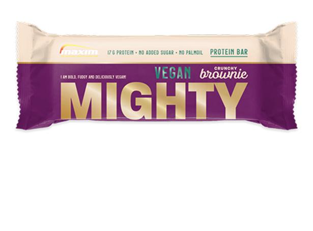 Mighty crunchy brownie Vegan