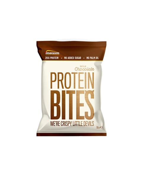 <b>NYHET</b>! Protein Bites med melkesjokolade